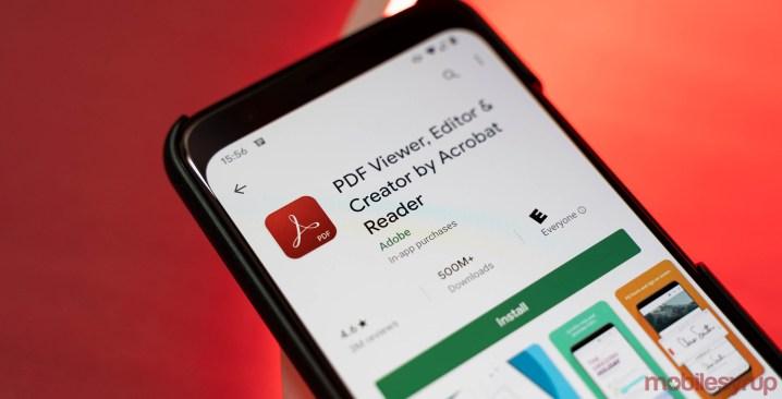 Adobe Acrobat PDF reader hits 500 million installs on Play Store