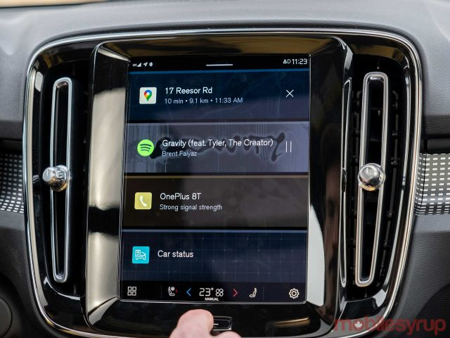 xc40 recharge android automotive scaled