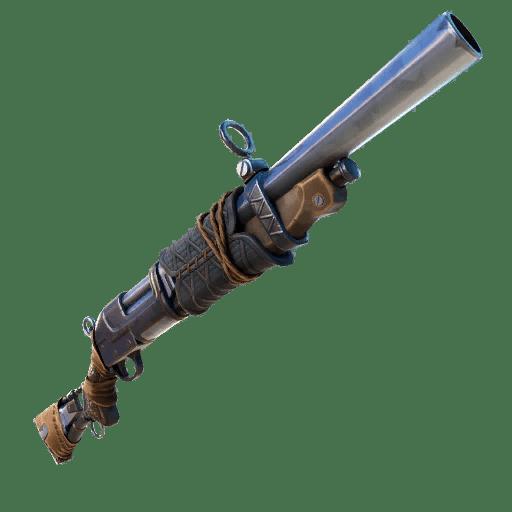 Makeshift shotgun in Fortnite
