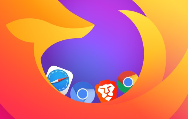 various browser icons