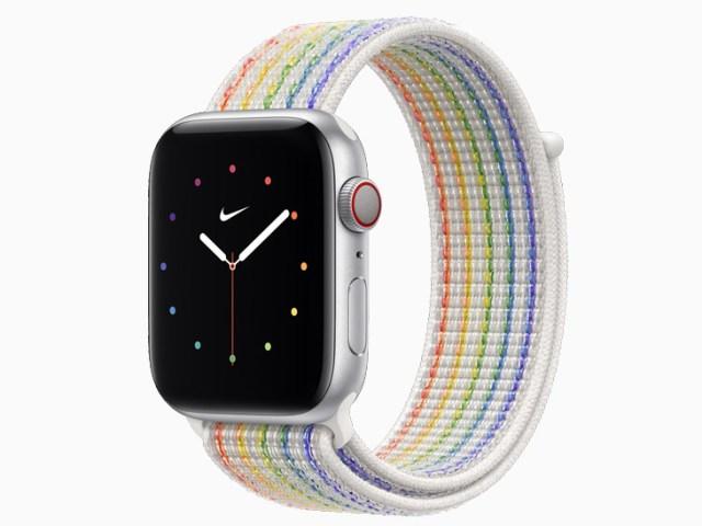 Apple Watch Nike pride edition body