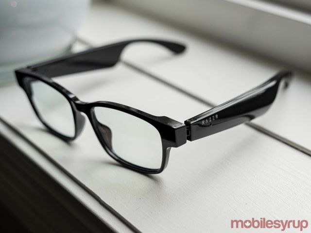 razer anzu smart glasses side angle scaled