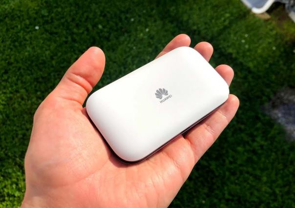 Huawei Router in Hand