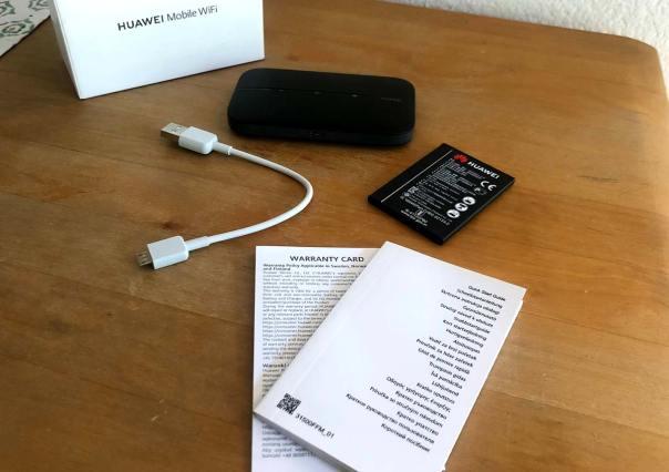 Lieferumfang Huawei E5783B-230