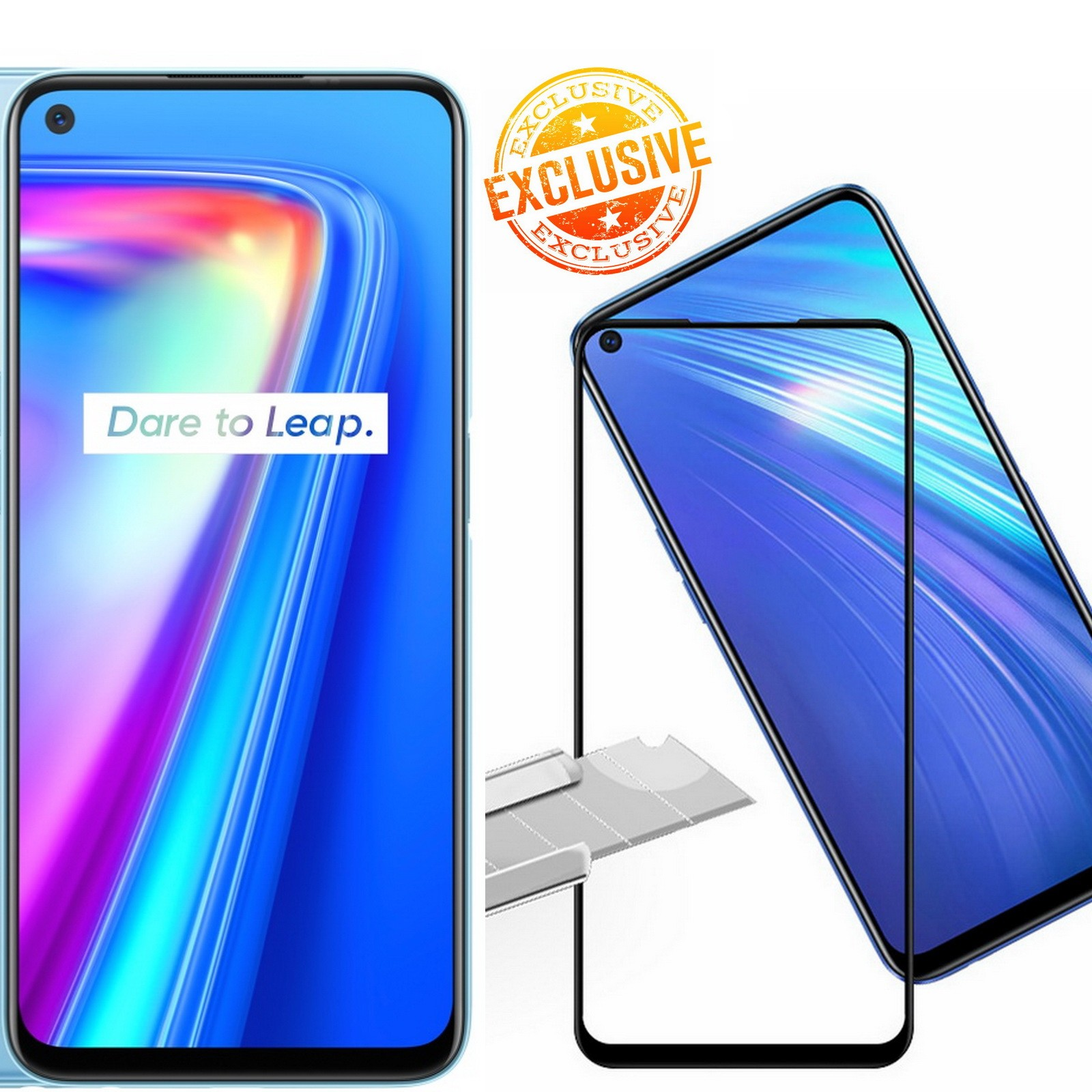 Realme 7 Tempered Glass Screen Protector