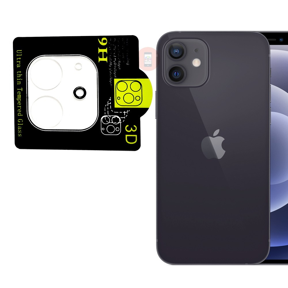 iPhone 12 Back Camera Lens Protector Full Cover Tempered Glass