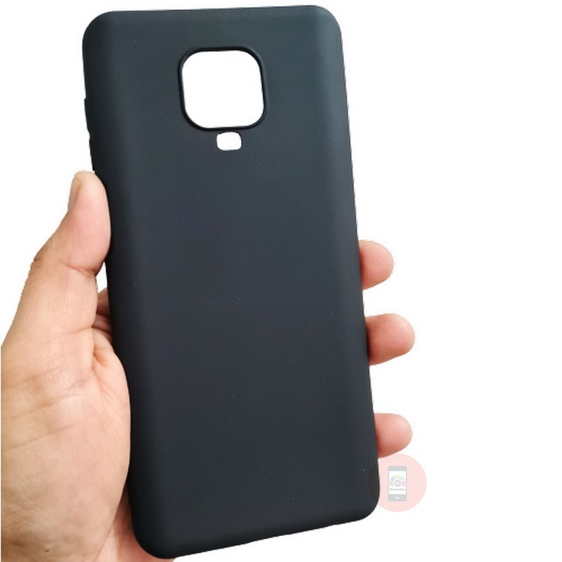 Redmi Note 9 Pro Max Back Cover Silky Touch Soft Silicon Case