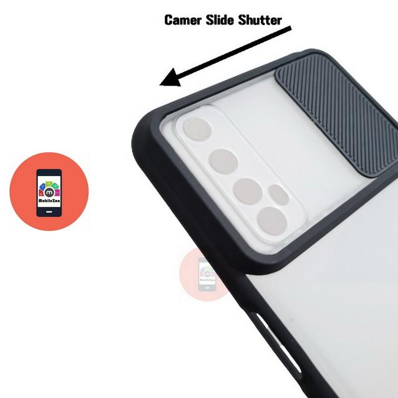 Realme 7 Camera Slide Smoke Back Case Cover