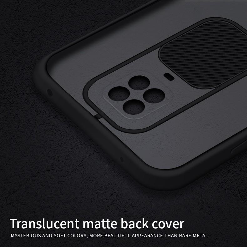 Redmi Note 9 Pro Max Camera Slide Smoke Back Case Cover