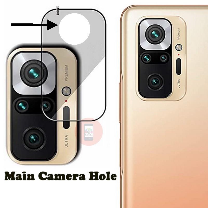 Redmi Note 10 Pro Max Camera Lens Protector Glass Guard Protection