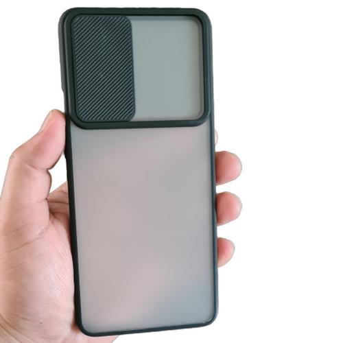 OnePlus 9 Pro Camera Shutter Slide Smoke Back Case Cover