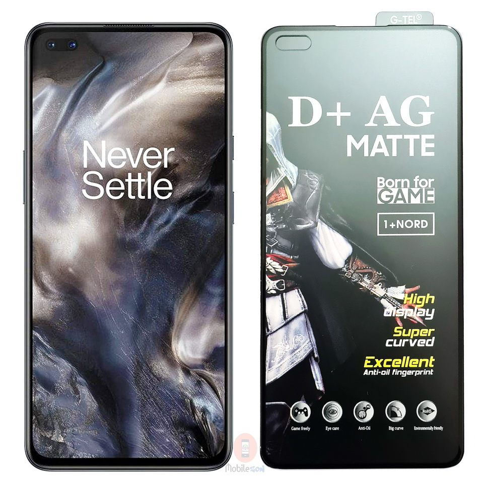 OnePlus Nord D+ AG Matte Gaming Tempered Glass Screen Protector
