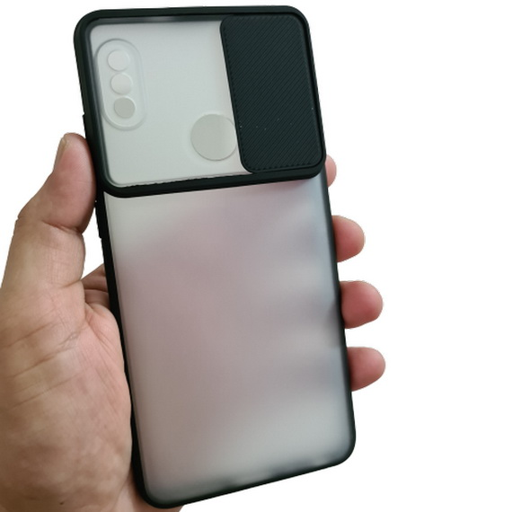 Redmi Note 5 Pro Camera Slide Smoke Back Case Cover