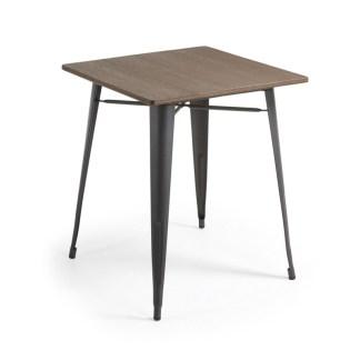 Mesa Comedor Malira 80 x 80 cm antracita