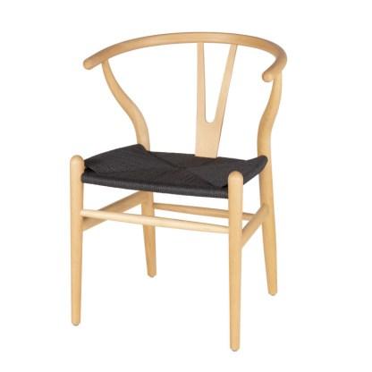silla-wishbone-natural-asiento-negro