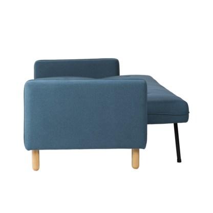 Sofá Cama DEL Azul