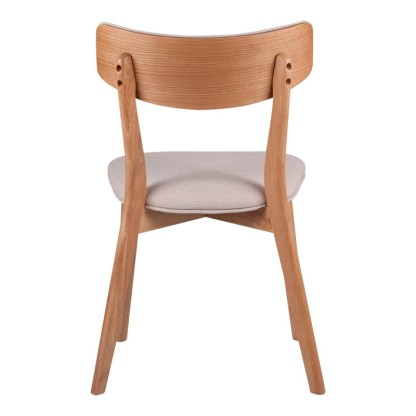 Silla Anne Roble & Beige