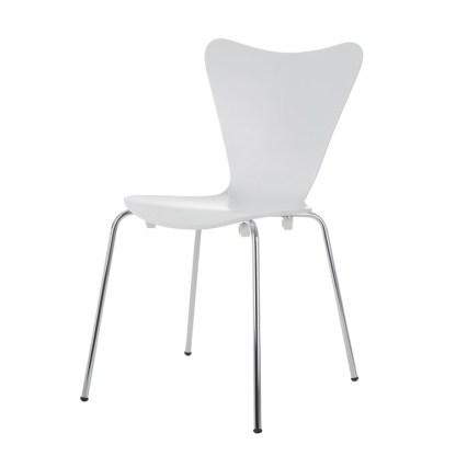 Silla Jacobsen Serie 7 Blanca