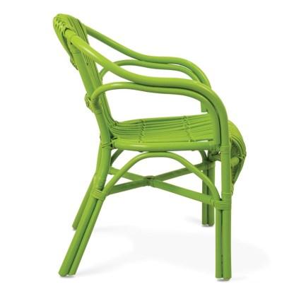 Sillón Ratan Verde