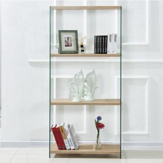 Estantería Glass Wood 76cm