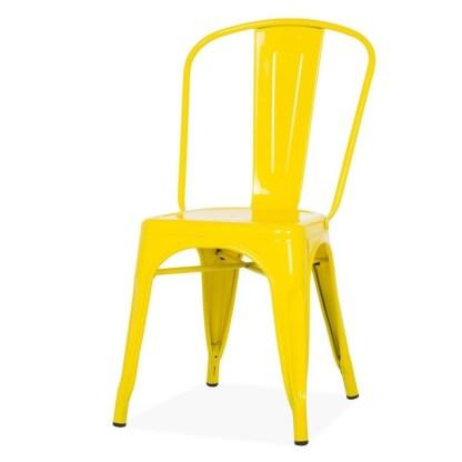 Silla Tolix Style Amarilla