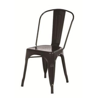 Silla Tolix Style Negra