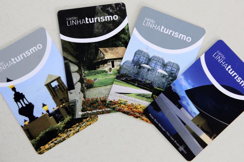 Linha Turismo Curitiba cartões