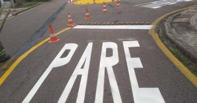 sinalização de trânsito Águas Belas