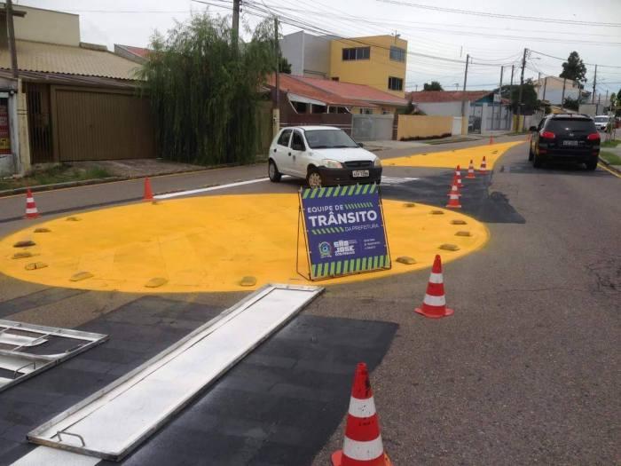 sinalização trânsito