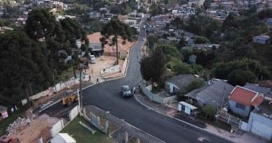 Rua da Amizade em Campo Magro