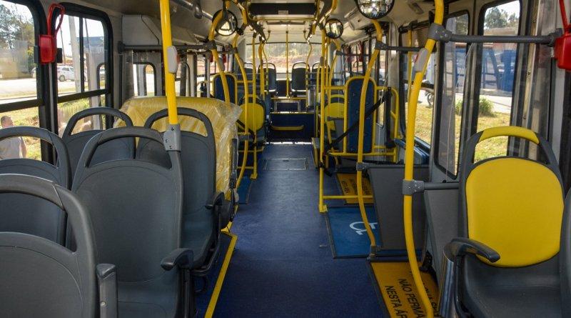 Novos ônibus Linha 304 Pinhais