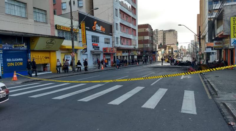 Rua André de Barros Incêndio