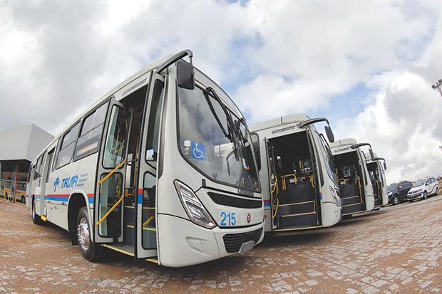 Vila do Sossego Triar Ônibus em Araucária Arvoredo Angélica