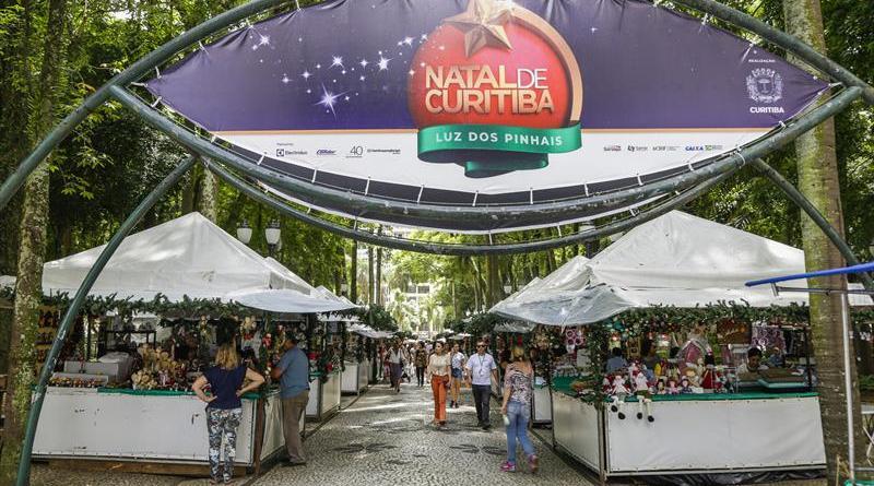 Feira de Natal da Praça Osório