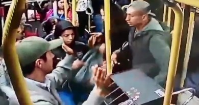 Arrastão em ônibus Linha Pompeia Janaina