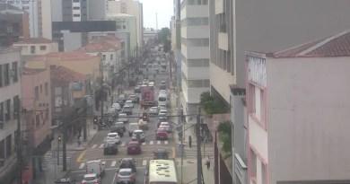 Rua Tibagi no Centro