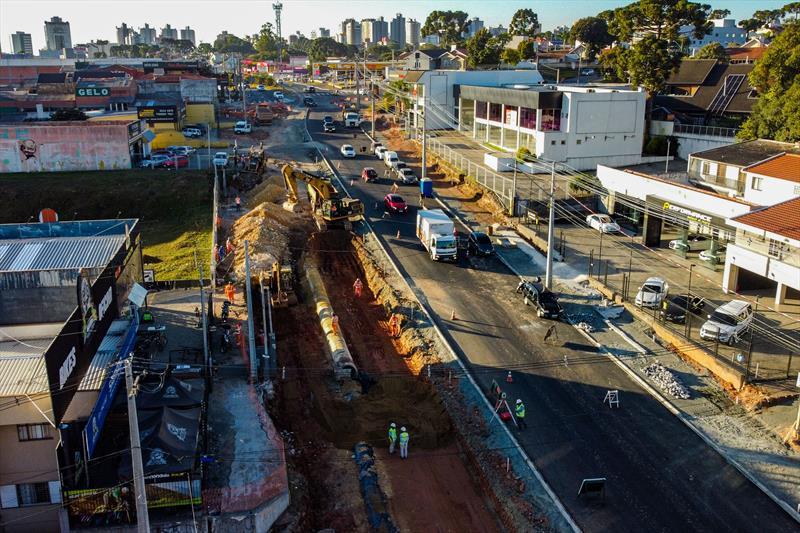 Tourinho Obras Curitiba Rua General Mário Tourinho