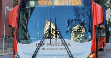 Máscara Ônibus Curitiba