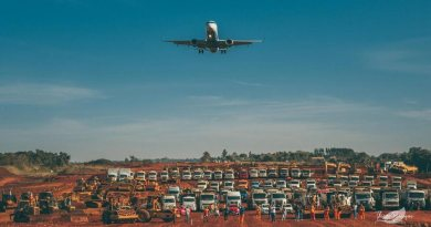 Aeroporto em Foz
