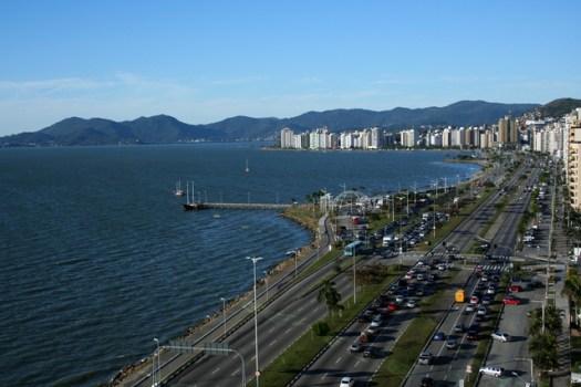 avenida em florianópolis