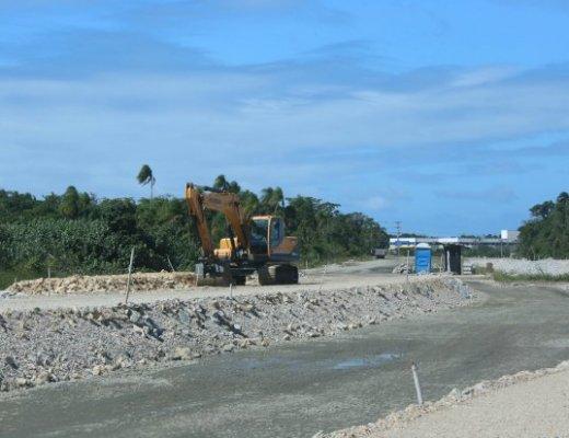 acesso ao sul da ilha
