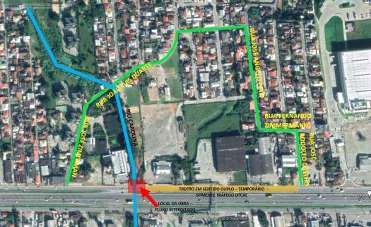 Mapa de sinalização