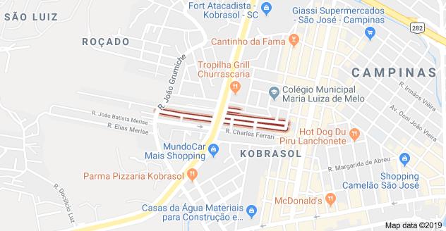 Rua Francisco Pedro Cunha