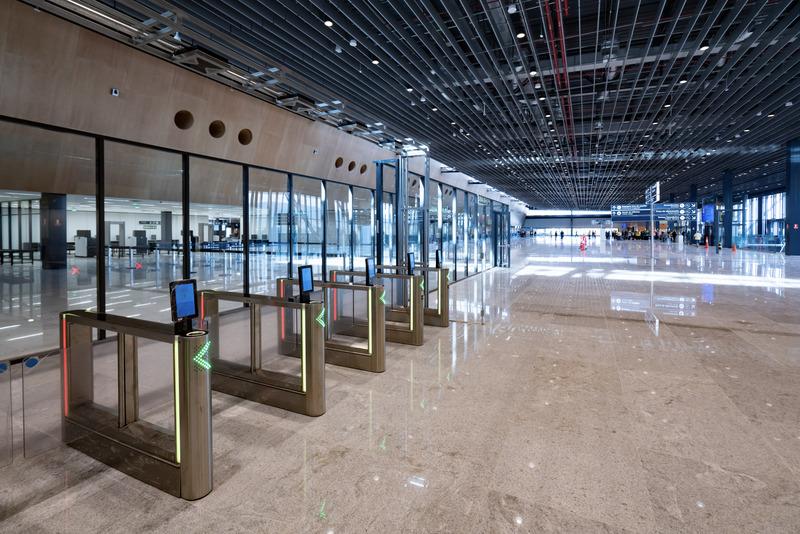 Novo aeroporto catracas