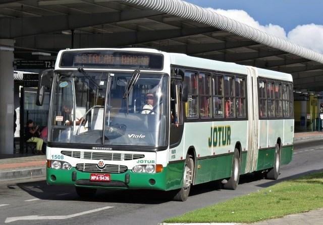 Ônibus Jotur Palhoça