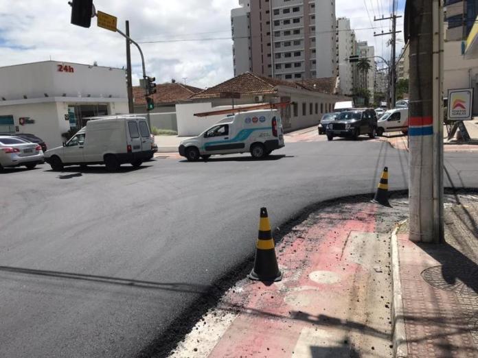 Obras do sistema viário Ponte Hercílio Luz