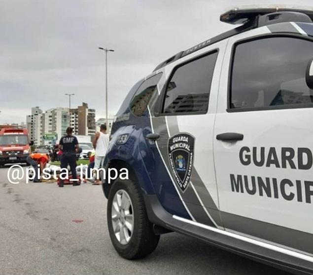 Acidente Motocicleta Avenida Beira-Mar Norte
