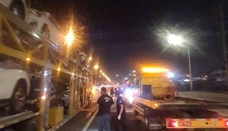 Acidente em Itajaí
