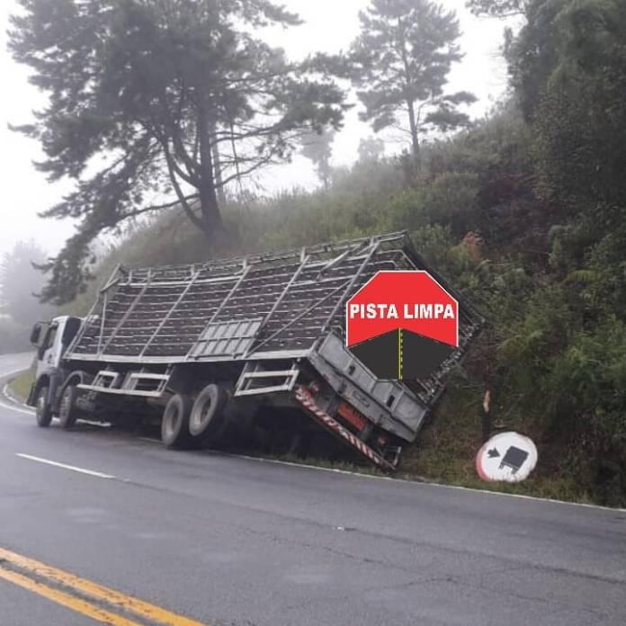 Caminhão em Rancho Queimado
