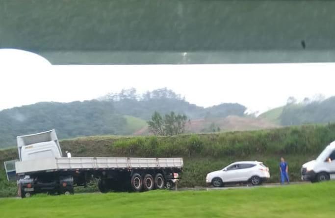 Caminhão em Joinville